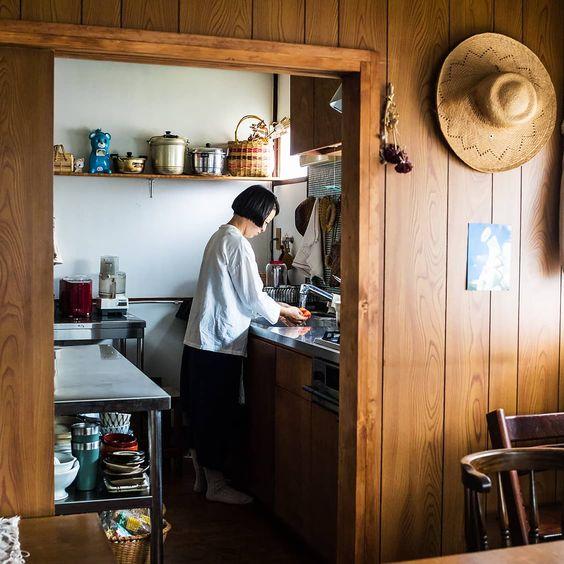 ชุดครัวสไตล์ญี่ปุ่นขนาดเล็ก