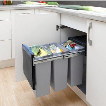 ไอเดียทำถังขยะภายในครัว