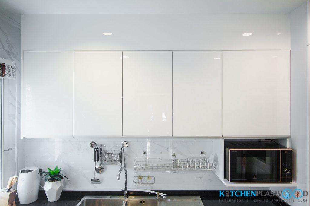 ตู้ลอยPlaswood, ชุดครัว Modern Kitchen Plaswood 100%