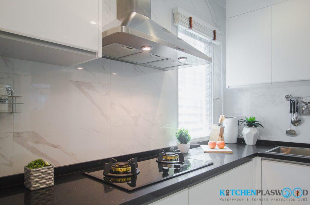 เครื่องใช้ไฟฟ้าครัวบิ้วอิน, ชุดครัว Modern Kitchen Plaswood 100%