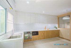 Modern Kitchen ชุดครัวโมเดิร์นในสไตล์ Minimal, ชุดครัว L-Shape