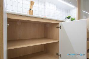 Modern Kitchen ชุดครัวโมเดิร์นในสไตล์ Minimal, สีภายในลามิเนตลายไม้