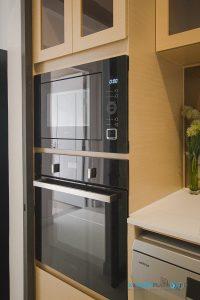 ชุดครัวลายไม้ ชุดครัวพลาสวูด 100%, ชุดเซ็ทเครื่องใช้ไฟฟ้า