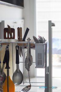 ชุดตะแกรงอเนกประสงค์, ชุดครัว I-Shape ทับโครงปูน ด้วยโครงสร้าง Plaswood