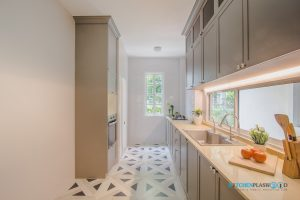 Kitchen Classic Design ชุดครัวบิ้วอินสไตล์คลาสสิก, ชุดครัวบิ้วอิน I Shape