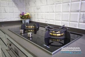 เตาแก๊ส, Premium Hi-Gross Kitchen : ชุดครัวไฮกรอส เงาวับ สไตล์โมเดิร์น
