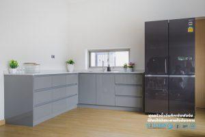 โครงสร้าง Plaswood, Super Perfect Counter Kitchen : เคาน์เตอร์ครัว เงาวับ