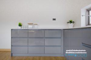 สีไฮกรอส, Super Perfect Counter Kitchen : เคาน์เตอร์ครัว เงาวับ, หน้าบานไฮกรอส