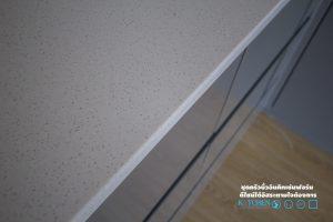 หน้าท็อปหินสังเคราะห์, Super Perfect Counter Kitchen : เคาน์เตอร์ครัว เงาวับ