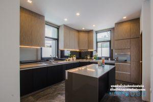 ชุดครัวหรู Style Modern Luxury, ชุดครัว L-Shape