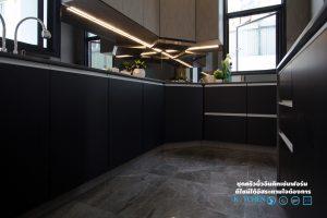 ชุดครัวหรู Style Modern Luxury, ชุดครัวสีดำ