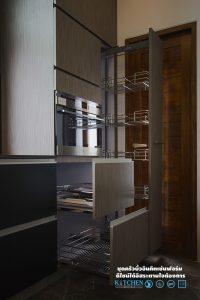 ชุดครัวหรู Style Modern Luxury, ชุดตะแกรงตู้สูง