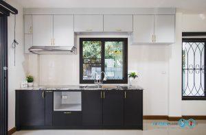 ชุดครัว I Shape, Mini Kitchen I Shape : ครัวบานเรียบในสไตล์โมเดิร์น