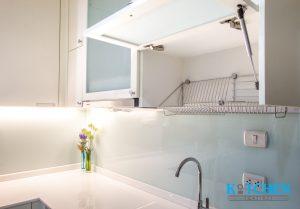 ชุดตะแกรงพับจานตู้ลอย, ชุดตะแกรงภายในชุดครัวของ Kitchen Form