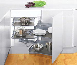ชุดตะแกรงตู้เข้ามุม, ชุดตะแกรงภายในชุดครัวของ Kitchen Form