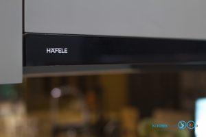ชุดครัวบิ้วอินสุดเรียบหรู C Shape Luxury, เครื่องดูดควันสลิมไลน์ Hafele