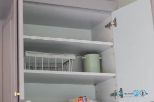 ช่องเก็บของภายในตู้, ชั้นวางปรับระดับ, Classic I Shape Kitchen ชุดครัวหรูสไตล์คลาสสิค