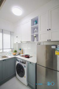 Mini Kitchen : ชุดครัวทูโทนในพื้นที่จำกัด, ชุดครัวทูโทน,