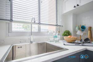 Mini Kitchen : ชุดครัวทูโทนในพื้นที่จำกัด, อ่างล้างจาน MEX,