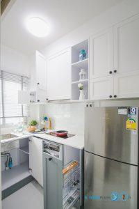 Mini Kitchen : ชุดครัวทูโทนในพื้นที่จำกัด, ภายในชุดครัว,