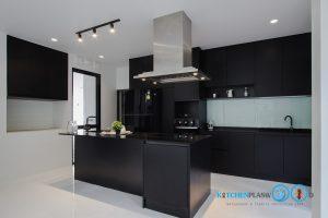 Modern Black Kitchen ชุดครัวดำสุดเท่ ในสไตล์โมเดิร์น, ชุดครัวสีดำ, Black Kitchen,