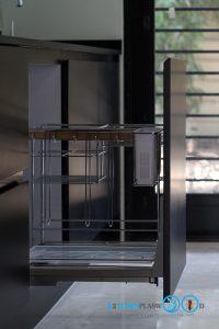 Modern Black Kitchen ชุดครัวดำสุดเท่ ในสไตล์โมเดิร์น, ชุดตะแกรงอเนกประสงค์,