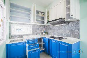 Classic Kitchen Two Tone ชุดครัวสองสีสุดปัง, ภายในตู้ชุดครัว,