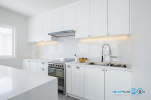White Modern Kitchen, เคาน์เตอร์ตัวไอ,