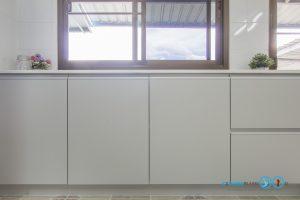 Built In Modern Kitchen ชุดครัวสีเทาในสไตล์โมเดิร์นเรียบเท่, ชุดครัวสีเทาด้าน,