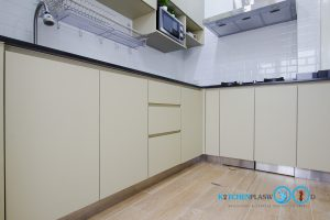 Modern Kitchen L Shape, เคาน์เตอร์พลาสวูด,