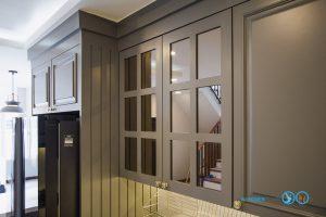 Classic Kitchen : ชุดครัวหรู ในสไตล์คลาสสิค, หน้าบานกระจกสไตล์คลาสิค,