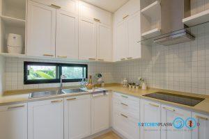 ชุดครัวบิ้วอินสไตล์วินเทจหรู Clean Vintage Luxury Kitchen, ตกแต่งห้องครัว, บิ้วอินชุดครัว,