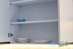 Modern Oyster Grey Kitchen ชุดครัวสไตล์โมเดิร์น โทนสีหอยนางรม, ภายในตู้ครัว, ตู้ลอย, ชั้นวางภายใน, ชั้นเก็บของ,