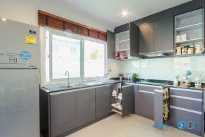 Dark Grey Kitchen ชุดครัวบิ้วอินโทนเทา สไตล์โมเดิร์น, ภายในครัว, อุปกรณ์ฟิตติ้ง,