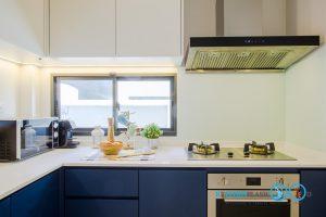 Two Tone Modern Kitchen ชุดครัวสองสี ในสไตล์โมเดิร์น, ชุดครัวกันน้ำกันปลวก,
