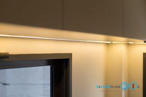 Two Tone Modern Kitchen ชุดครัวสองสี ในสไตล์โมเดิร์น, ไฟ LED,