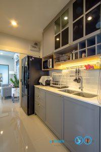 Classic Kitchen 2 Side I Shape เรียบหรูแบบมีสไตล์, ชุดครัวตัวไอ (I Shape Kitchen),  เคาน์เตอร์ล้างจาน,