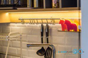 ไฟ LED, ไฟส่องสว่างใต้ตู้ลอย, ชุดรางไฟชุดครัว,