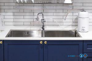 ชุดครัวสายหวาน, Sweet Kitchen Design, ชุดครัวบิ้วอิน, ซิงค์ล้างจาน, อ่างล้างจาน,