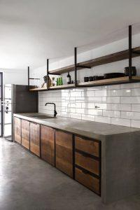 6 ไอเดีย ทำครัวโครงปูนเชยๆ ให้สวยเท่ทันสมัย, ชุดครัวปูน, โครงสร้างปูน, ครัวปูน, Industrial Kitchen,