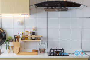 ขั้นตอนการทำครัวบิ้วอิน Kitchenform, ชุดครัวบิ้วอิน, ทำครัวบิ้วอิน, ผนังกันคราบ, เลือกผนังกันคราบ, กระเบื้องผนังกันคราบ,