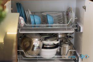 ชุดครัว Modern Kitchen ลายไม้ Tintore Walnut, ครัวลายไม้, โต๊ะไอแลนด์, ชุดครัวสไตล์โมเดิร์น, ชุดครัวขนาดกลาง, ชุดตะแกรงอเนกประสงค์,