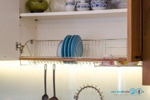 ชุดครัว Modern Kitchen ลายไม้ Tintore Walnut, ครัวลายไม้, โต๊ะไอแลนด์, ชุดครัวสไตล์โมเดิร์น, ชุดครัวขนาดกลาง, ชุดตะแกรงพักจาน,