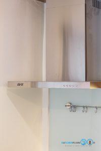 ชุดครัว Modern Kitchen ลายไม้ Tintore Walnut, ครัวลายไม้, โต๊ะไอแลนด์, ชุดครัวสไตล์โมเดิร์น, ชุดครัวขนาดกลาง, เครื่องใช้ไฟฟ้า, เครื่องดูดควัน, ฮูดติดผนัง,