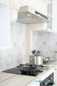 English Classic Kitchen ชุดครัวสไตล์อังกฤษ สุดคลาสสิกครีมมี่โทน, ชุดครัวบิ้วอิน, ชุดครัวสไตล์คลาสสิก, ชุดครัวสไตล์อังกฤษ, ครัวตัวแอล, ครัวโทนสีครีม, โซนทำอาหาร, เครื่องใช้ไฟฟ้า,