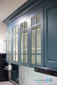 English Classic Kitchen, ชุดครัวสไตล์อังกฤษหรู, I Shape, Colter Bay Tone, หน้าบานสไตล์คลาสสิก, หน้าบานพ่นสี, หน้าบานกระจกใส,