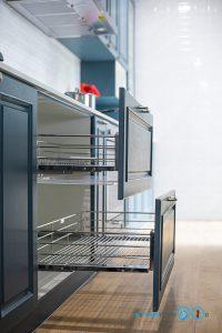English Classic Kitchen, ชุดครัวสไตล์อังกฤษหรู, I Shape, Colter Bay Tone, ตู้ครัว, ภายในครัว, อุปกรณ์ฟิตติ้ง, ชุดตะแกรงจัดเก็บ,