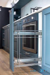 English Classic Kitchen, ชุดครัวสไตล์อังกฤษหรู, I Shape, Colter Bay Tone, ตู้ครัว, ภายในครัว, อุปกรณ์ฟิตติ้ง, ชุดตะแกรงใส่ขวดเครื่องปรุง,