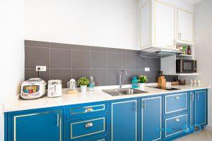 ชุดครัวคลาสสิกสุดหรู, Classic & Luxury, Mini Kitchen I Shape, ครัวตัวไอ, ครัวขนาดเล็ก,